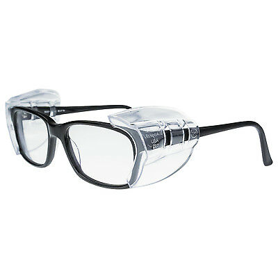 New Radians Universal Flex Safety Glasses SideShields Clear UV Protection 99705