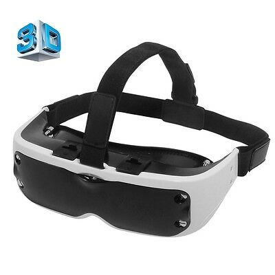 NEW Slim 3D VR Headset Virtual Reality Universal Advance Cinema Glasses Goggles