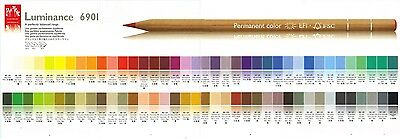 Caran D'Ache Luminance 6901 Singles Highest Quality Artist Pencils Part Two