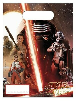 Star Wars Episode VII Loot Party Bags Pack Of  6