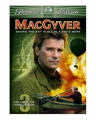 MacGyver - The Complete Third Season (5 Discs, 2005) New and Sealed!