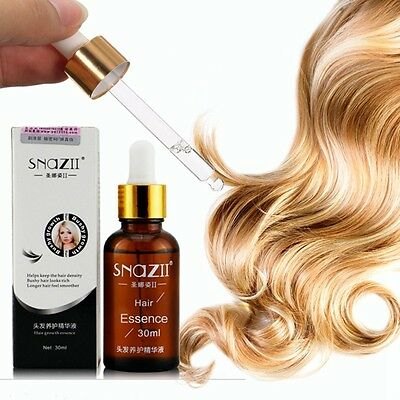 SNAZII Natural Herbal Hair Care Loss Growth Essence Essential Oil Treatment Liqu