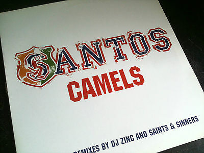 "Santos - Camels - Uk Garage / Breakbeat / House Ukg 12"" Vinyl Record Dj"