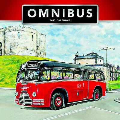 Omnibus Bus 2017 Uk Square Wall Calendar New And Sealed