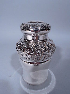 Frank Whiting Tea Caddy - 1450 - Antique Box - American Sterling Silver