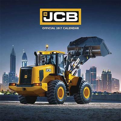 Jcb Diggers Official 2017 Uk Square Wall Calendar New And Sealed