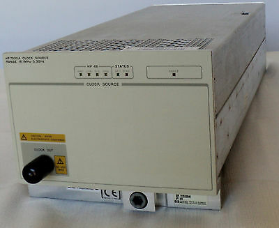 HP Agilent Keysight 70311A Clock Source Module, 16.1 MHz to 3.3 GHz, Ref. #39160