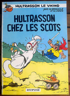 EO Hultrasson le viking - Hultrasson chez les Scots - Remacle - 1966