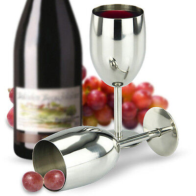 304 Stainless Steel Wine Cup Champagne Creative Fashion Goblet Cup Drinkware Cup