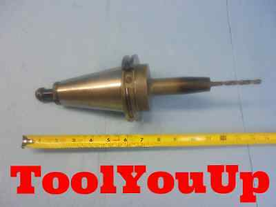 """8 mm CAT 50 SHRINK FIT TOOL HOLDER 5"""" EXTENSION WITH 8 mm SOLID CARBIDE DRILL"""