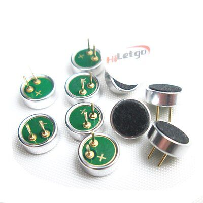10PCS Electret Condenser Microphone MP3 Microphone Microphone Head  6*2.2mm