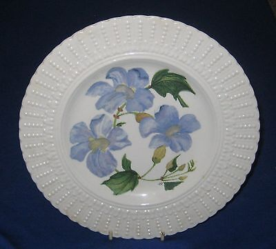 "Royal Cauldon Flowers of the Caribbean ""Blue Sky Flower"" Plate"