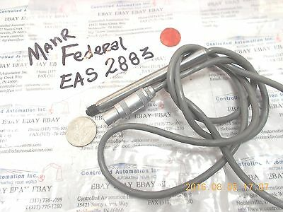 Mahr Federal EAS2883 Transducer Probe Electronic Amplifier Digital Sensor