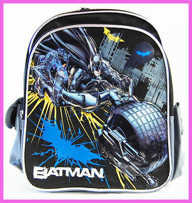 "Batman School Backpack 12"" Mini Kid's Backpack Book Bag"