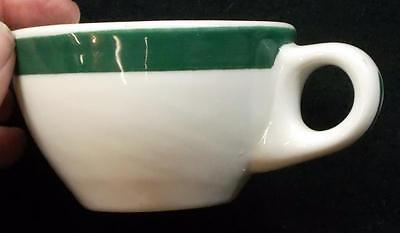 Walker China 'Green Stripe' Coffee Cup - No Reserve
