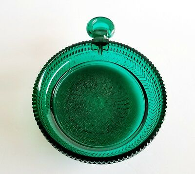 Charmed Tv Show Props Round Green Glass Candleholder With Handle Potion Table