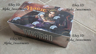 MTG Magic the Gathering Innistrad Booster Box SEALED Booster Pack Box ENGLISH