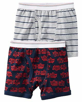 Carter's  Boys' 2-Pack Cotton Boxer Briefs   MSRP$12.00  Size 2--8