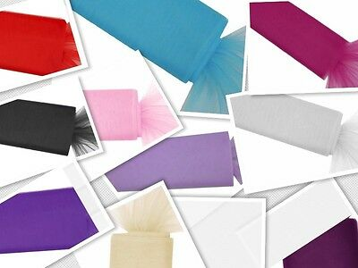 1.4m x 26m Tulle Bolt Roll  Large Format Wedding Lots of Colours in stock