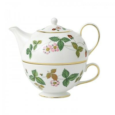 Wedgwood Wild Strawberry Tea For One - RRP $399.00
