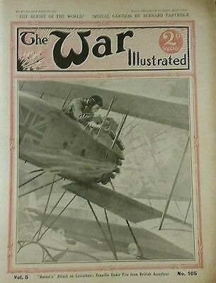 The War Illustrated WW1 # 105 (Ovillers, Pozieres, Givenchy, Brussiloff)