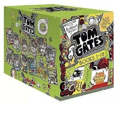 Welcome to the Brilliant World of Tom Gates 12 Books Collection New