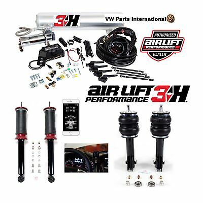 "VW Golf MK3 GTI VR6 Air Lift 3H 1/4"" Management + Front & Rear Slam Kit Air Ride"