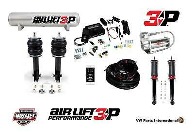 "VW Golf MK2 8V 16V GTI Air Lift 3P 1/4"" Management + Front & Rear Suspension"