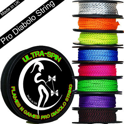 Diabolo String ULTRA-SPIN Pro - Performance Diablo String For All Diabolo Sticks
