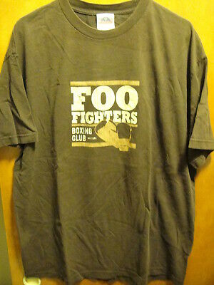 FOO FIGHTERS ~ XL ~ RARE ~ Boxing Club Est 1994~ 2 Sided T Shirt