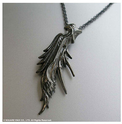 FINAL FANTASY VII Black Silver Pendant SEPHIROTH Square Enix Official JAPAN NEW