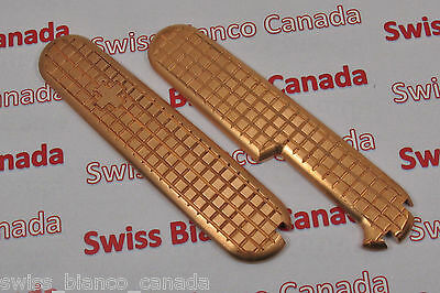 Swiss Bianco Copper Plus Scales for Victorinox 91mm Swiss Army Knife
