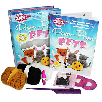 Zap! Pom-Pom Pets - Arts and crafts fun for children