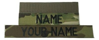 Multicam OCP Custom Name Tape, - US ARMY US Air Force Military Tape