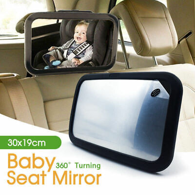 Car Baby Kids Child Seat Inside Back Mirror View  Rear Ward Facing Care Safety
