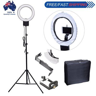 40W Ring Lamp Light + Diffuser + Camera Phone Holder + 2M Stand + Bag Kit