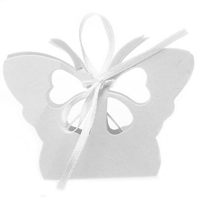 12 Candy Ribbon Paper Jewelry Gift Box Wedding Favour Butterfly
