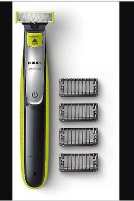 Philips OneBlade QP2530 Hybrid trimmer & shaver 4combs And Charger