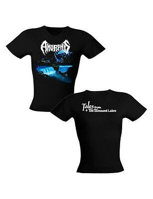 AMORPHIS - Tales From The 1000 Lakes - Girlie Girl Woman Shirt - Größe Size S