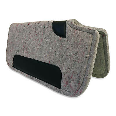 "NEW Western/Stock/Trail Saddle Pad /Blanket Thick Grey Felt 30"" x 30"""