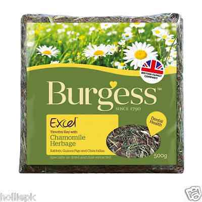 Burgess Excel Timothy Hay With Chamomile Herbage Rabbit Guinea Pig Chinchilla