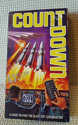 Mini mind movers Count Down 4,000 A Game To Find The Blast Off Combination 1974