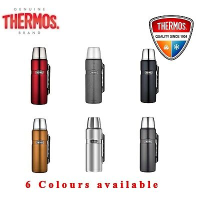 Thermos STAINLESS STEEL VACUUM Insulated Beverage Bottle Thermo Flask 1.2L