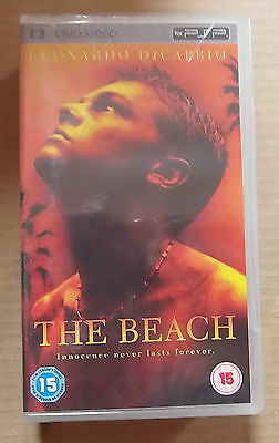 The Beach  (New & Sealed)(Sony PSP UMD Video)   Free  Postage