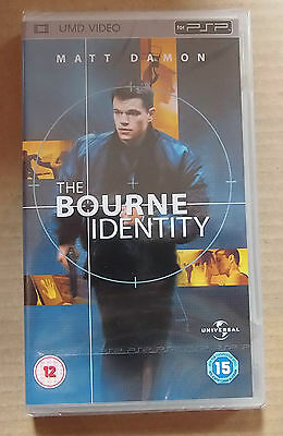 The Bourne Identity  (New & Sealed)(Sony PSP UMD Video)   Free  Postage