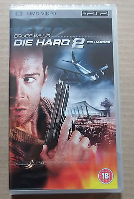 Die Hard 2 Die Harder  (New & Sealed)(Sony PSP UMD Video)  Free  Postage