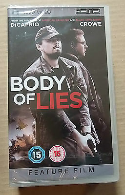 Body of Lies (New & Sealed)(Sony PSP UMD Video) Free  Postage