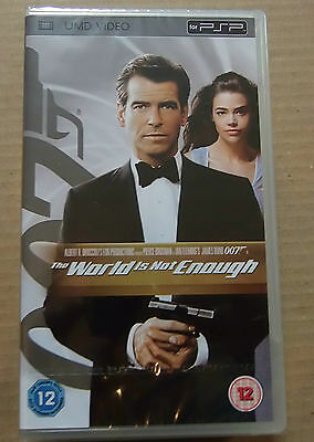 The World Is Not Enough (New & Sealed)(Sony PSP UMD Vide)  Free  Postage