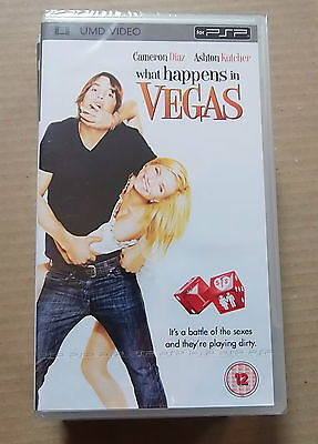 What Happens in Vegas (New & Sealed)(Sony PSP UMD Video)  Free  Postage