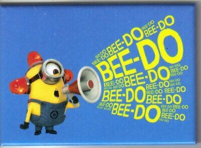 Despicable Me Movie Minion Phil with Megaphone Bee-Do Refrigerator Magnet, NEW
